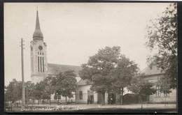 YUGOSLAVIA - BAČKO GRADIŠTE Village-Catholic Church,Serbia,Bečej Municipality-VINTAGE PHOTO POSTCARD (APAT#53) - Yougoslavie