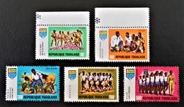 JEUNESSE TOGOLAISE 1969/70 - NEUFS ** - YT PA 117/21 - MI 750A/54A - Togo (1960-...)