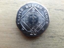 Ile De Man 20  Pence  2015  Km !!!! - Regional Coins