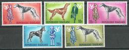 Togo YT N°520/524 UNICEF Chiens De Race Neuf ** - Togo (1960-...)