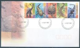 AUSTRALIA  - FDC - 4.9.1997 - WILDLIFE - Yv 1610-1614 - Lot 18623 - Premiers Jours (FDC)