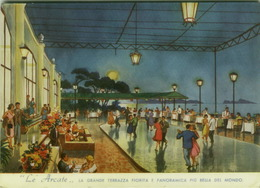 NAPOLI - LE ARCATE - RESTAURANT - AMERICAN BAR - DANCING - EDIZ. RAFFONE ( 2838) - Napoli (Naples)