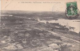 ILES CHAUSEY   ( 50 ) Vue Générale - Partie Ouest De La Grande Ile  ( Port Gratuit ) - Other Municipalities