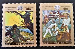 50 ANS DE L'O.I.T - ABLEAUX 1970 - NEUFS ** - YT PA 126/27 - MI 776A/77A - Togo (1960-...)