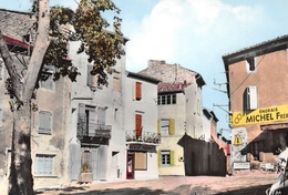 BARJAC - Le Tabac Et La Rue- Vélomoteur - France