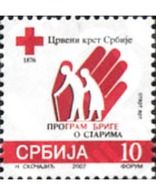 Ref. 220743 * MNH * - SERBIA. 2007. RED CROSS . CRUZ ROJA - Serbie