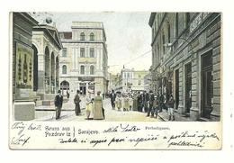 AK Sarajevo - Ferhadigasse - Um 1905 - Bosnie-Herzegovine