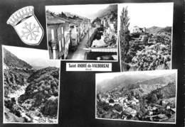 SAINT-ANDRE-de-VALBORGNE - Vues Multiples - Blason - France