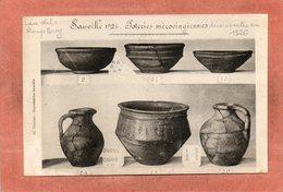 CPA - SAUVILLE (88) - Thème : Archéologie - Aspect Des Poteries Mérovingiennes Découverte Dans Un Tumulus En 1926 - France