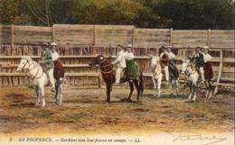 D13  CAMARGUE  Gardians Avec Leur Femme En Croupe  ... - France