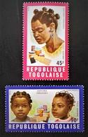 COIFFURES TOGOLAISES 1970 - NEUFS ** - YT PA 128/29 - MI 784A/85A - Togo (1960-...)