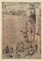 Affiche Du Souvenir De La Tombola De 1873 Organisée Au Profit Des Pauvres Par Le Bureau De Bienfaisance De LIEGE - Affiches