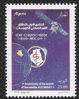 Année 2018-N°1832 Neufs**MNH  : 1er Anniversaire Lancement ALCOMSAT-01 - Algeria (1962-...)