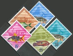 Togo YT N°515/519 Pêche Et Poissons Africains Neuf ** - Togo (1960-...)