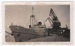 Photo Originale Marine Bateau Paquebot CNP Azemmour - Boten