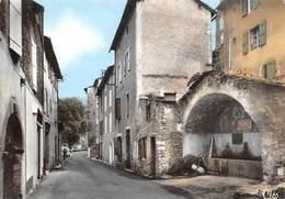 SAINT-ANDRE-de-VALBORGNE - Le Quartier Bas Et La Fontaine Du Griffon - France