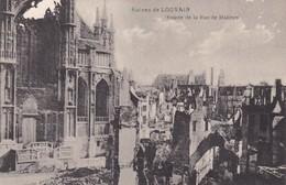 Louvain Entree De La Rue De Malines - Leuven