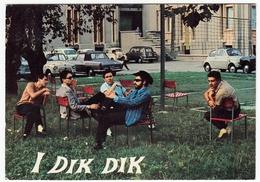 CANTANTI E MUSICISTI - I DIK DIK - Vedi Retro - AUTOMOBILI - CARS - Cantanti E Musicisti