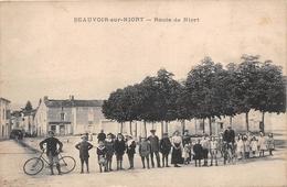 ¤¤  -   BEAUVOIR-sur-NIORT    -  Route De Niort   -  ¤¤ - Beauvoir Sur Niort