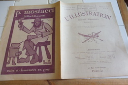 L'Illustration 24 Janvier 1920- PRISONNIERS ALLEMANDS-NAURAGE DU PAQUEBOT L'AFRIQUE-JOURNEES SANGLANTES BERLIN - Giornali