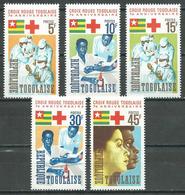 Togo YT N°485/489 Croix-Rouge Togolaise Neuf ** - Togo (1960-...)