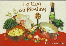 LE COQ AU RIESLING - Recettes (cuisine)
