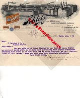 ETATS UNIS AMERIQUE-RARE LETTRE SCHLITZ-BRASSERIE THE BEER MILWAUKEE-F. HOLLANDER-JOS SCHLITZ BREWING-HENRY UIHLEIN-1909 - United States