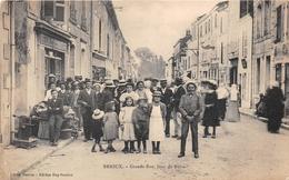 ¤¤  -   BRIOUX    -   Grande Rue, Jour De Foire   -  ¤¤ - Brioux Sur Boutonne