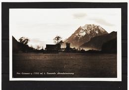 KTM391 POSTKARTE 1932 DER GRIMMING ABENDSTIMMUNG STEIERMARK UNGEBRAUCHT SIEHE ABBILDUNG - Österreich