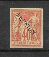 REUNION - N° 14 NEUF * - COTE = 400.00 € - Unused Stamps