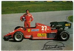 AUTOMOBILI - CARS - F.1 - FERRARI - PATRICK TAMBAY - Vedi Retro - Grand Prix / F1