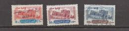 3 Used Fiscal Stamps 1984 10L- 50L- 100L Revenue Lebanon , Liban Libanon - Liban