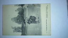 Carte Postale (K4 ) Ancienne ( Reflet De Flach) Types Du Centre , Enfants Bourbonnais - Centre-Val De Loire