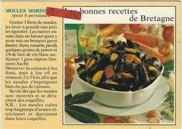 LES  MOULES MARINIERES - Recettes (cuisine)