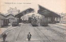 ¤¤  -   THOUARS   -   La Gare  -  Vue Intérieure   -  Train , Chemin De Fer    -  ¤¤ - Thouars