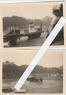 2 Photos ,Arrivée Bourdon De La Paix à Basilique De Koekelberg - Koekelberg