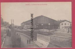 88 - EPINAL----La Gare Et Rue De Chantraine--animé - Clamart