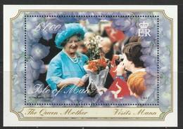ILE De MAN - BLOC N° 42 ** (2000) The Queen Mother - Man (Ile De)
