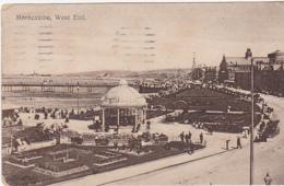 Postcard - Morecambe, West End - Postced 29-07-1922 - VG - Cartes Postales
