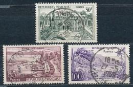 France- Série Touristique YT 1192-1194 Obl - France