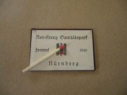 Miroir Allemand Seconde Guerre ( Croix Rouge Nuremberg ) - Equipement