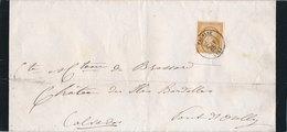 Lettre Avis De Décès N°21 Falaise Calvados - Marcophilie (Lettres)