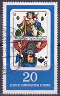 Germany DDR  1967 1 V Used  Playing Cards - Giochi