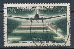 France- 20 Ans Du Service Aéropostal De Nuit YT 1196 Obl - France