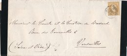 Lettre Avis De Décès N°21 Strasbourg - Marcophilie (Lettres)
