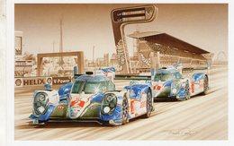 Toyota TS040 Hybrid  -  Le Mans 2015 -  Pilotes: Wurz/Sarrazin/Conway  -  Tableau De Francois Bruere - Le Mans