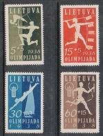 LITUANIE N°362 A 365 N* - Lituanie