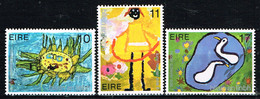 """Kind & Jugend """"Annee Internationale De L` Enfant 1979"""",  IRLAND, Kinderzeichnungen,  Postfr. / MNH / Neuf - Kind & Jugend"""
