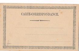 Carte Correspondance Précurseur Neuve - Marcophilie (Lettres)