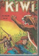 KIWI  Reliure N° 41 ( N° 198 + 199 + 200 + 201 )   - LUG  1972 - Kiwi